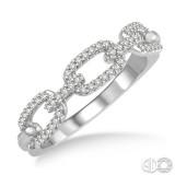 14k White Gold .20ct tw Diamond Ring