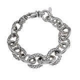 Sterling Silver Graduated Bracelet