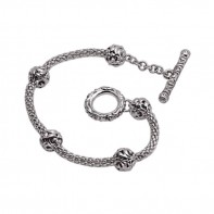 Sterling Silver Ivy Bracelet