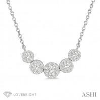 14KW .50ct tw LoveBright Diamond Necklace
