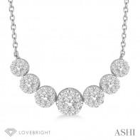14KW .75ct tw LoveBright Diamond Necklace
