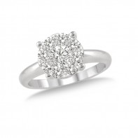 1/3 Carat T.W. Round Solitaire Lovebright Ring.