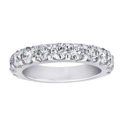 14KW 3/4ctw Diamond Wedding Band