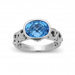 Dylani Collection Sterling Silver Ring