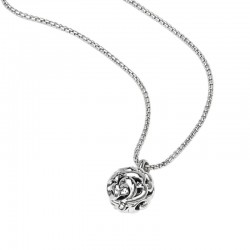Sterling Silver Ivy Ball Pendant
