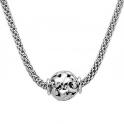 Sterling Silver Bead Pendant
