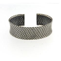 Samuel B. Sterling Silver Woven Bracelet