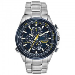 Citizen Eco-Drive Radio-Controlled Chronograph World Timer Blue Angels