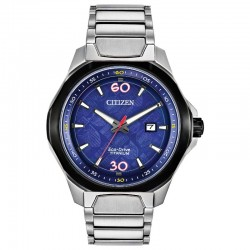 Men's Citizen Titanium Limited Edition Marvel 80th Anniversary Watch w/Blue