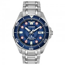 Men's Citizen Captain America Watch w/Blue-Red