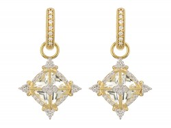 JudeFrances 18K Yellow Gold Earrings