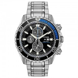Proof that a dive watch can be fun & functional with the Citizen ISO-compliant Citizen Promaster Chrono Diver.