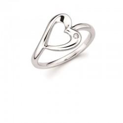 SS Diva Diamonds® Heart Ring