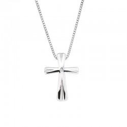 SS Diva Diamonds® Cross Pendant