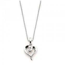 SS Diva Diamonds® Heart Pendant