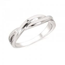 SS Diva Diamonds® Twisted Ring