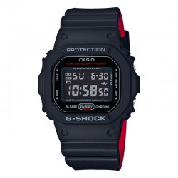 G-Shock Black x Red Heritage Color Series Analog-Digital Watch