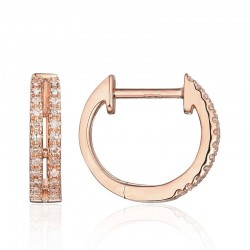 Luvente Diamond Huggie Earrings