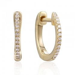 Luvente Diamond Hoop Earrings
