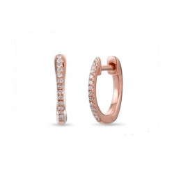 Luvente Diamond Hoops
