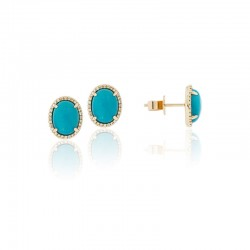 Luvente Turquoise Earrings