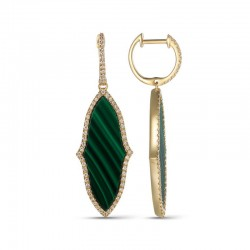 Luvente Malachite Earrings