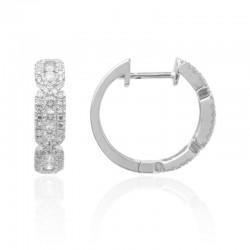 Luvente Diamond Small Hoop Earrings