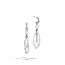 Palu Pearl Drop Link Earrings