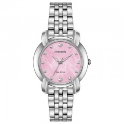Reminscent of a 1950s bow a brand new silhouette for CITIZEN the Ladies Jolie timepiece.