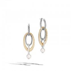 Palu Pearl Drop Link Transformable Earrings