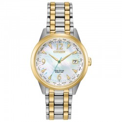 Take a walk on the technical side with the brand new Citizen Ladies World Time timepiece.