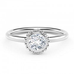 The Tribute™Collection Classic Forever Bezel Diamond Ring