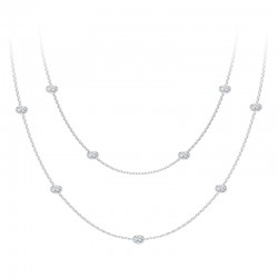 The Tribute™Collection Diamond Stations Necklace