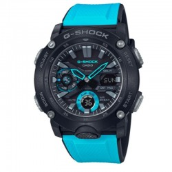 G-Shock Watch Black Dial With Blue Accents