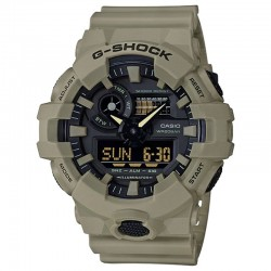 G-Shock Watch Front Button Resin Strap, Beige