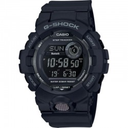 G-Shock Watch Black Resin Strap, Black Dial