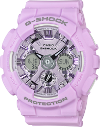 G-Shock Ladies' Watch Pastel Pink Watch, Resin Strap