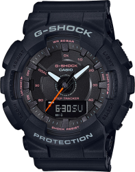 G-Shock Watch Step Tracker Resin Strap, Black Dial