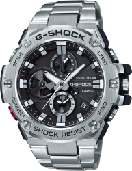 G-Shock Watch GST Solar ST Band, Black Dial
