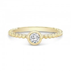 The Tribute™ Collection Classic Stackable Forever Bezel Diamond Ring