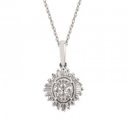 14KW Diamond iCherish™ Pendant