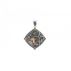 Women's Sterling Silver & 18KY Star Pendant