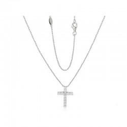 Luvente Diamond Cross Pendant