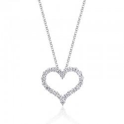 Luvente Diamond Heart Pendant