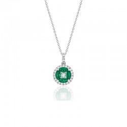 Luvente Emerald Pendant