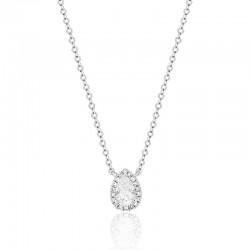 Luvente Diamond Halo Necklace