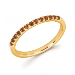 14KY Citrine Stackable Ring