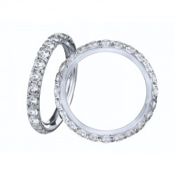18KW .50ctw Diamond Anniversary Band
