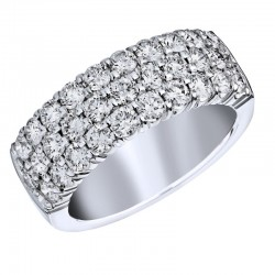 18KW 1.75ctw Diamond Fashion Ring