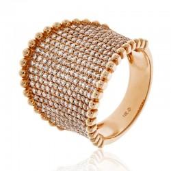 Luvente Diamond Saddle Ring